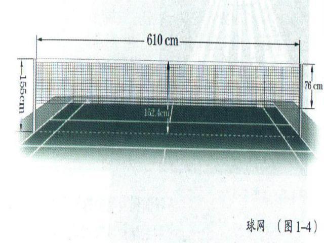 小学排球网标准尺寸图片 排球网高度标准尺寸,排球架标准尺